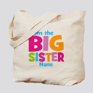 Big Sister Personalized Tote Bag