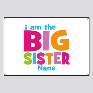Big Sister Personalized Banner