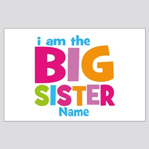 Big Sister Personalized Large Poster