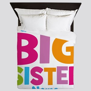 Big Sister Personalized Queen Duvet