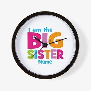 Big Sister Personalized Wall Clock
