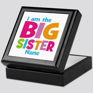 Big Sister Personalized Keepsake Box