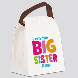 Big Sister Personalized Canvas Lunch Bag