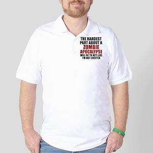 Zombie Apocalypse Golf Shirt