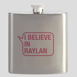 I Believe In Raylan Flask