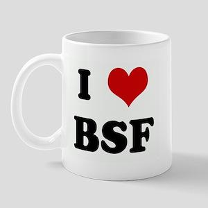 I Love BSF Mug