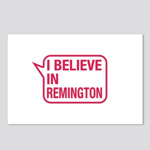 I Believe In Remington Postcards (Package of 8)