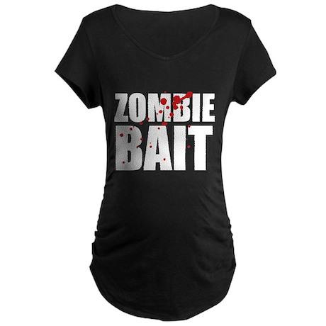 Zombie Bait Maternity Dark T-Shirt