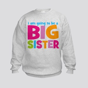 Big Sister Personalized Kids Sweatshirt