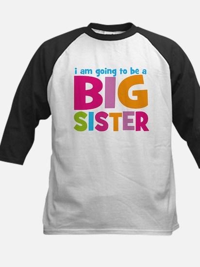 Big Sister Personalized Kids Baseball Jersey