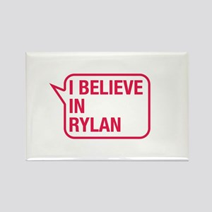 I Believe In Rylan Rectangle Magnet
