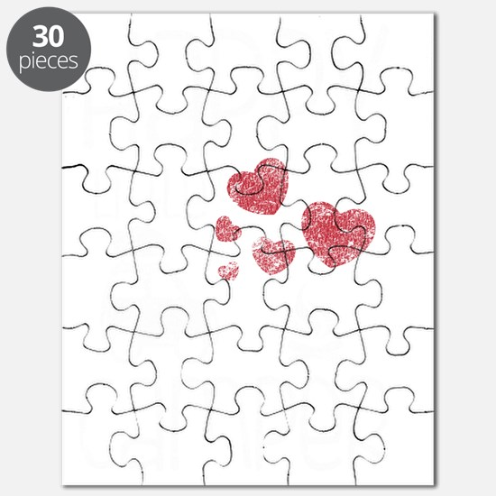 Womens v neck Puzzle