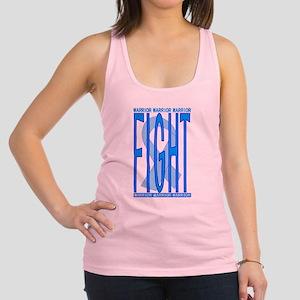 CancerFightBlue Racerback Tank Top