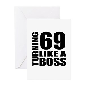 69th Birthday Greeting Cards