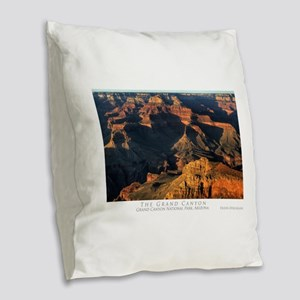 GrandCanyon14x10w Burlap Throw Pillow