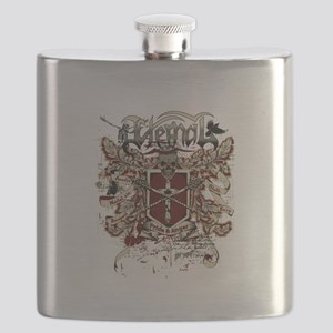 eternal pride anger affected red Flask