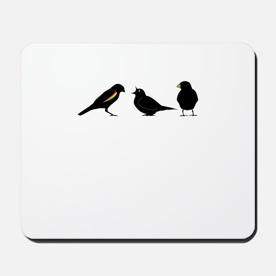 3 little birds Mousepad