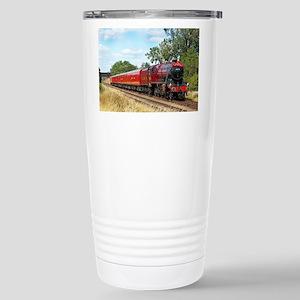 Vintage Steam Engine Travel Mug
