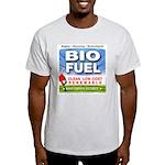 Bio Fuel Clean Ash Grey T-Shirt