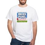 Bio Fuel Clean White T-Shirt