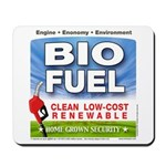 Bio Fuel Clean Mousepad