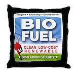 Bio Fuel Clean Throw Pillow