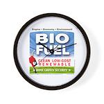 Bio Fuel Clean Wall Clock