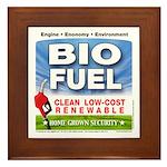 Bio Fuel Clean Framed Tile