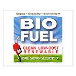 Bio Fuel Clean Small Poster