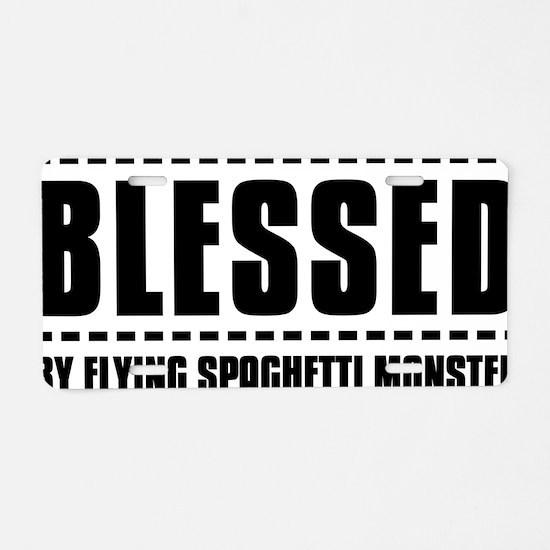 Spaghetti monster Aluminum License Plate