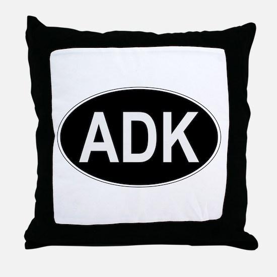 ADK Euro Oval Throw Pillow