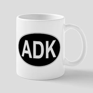 ADK Euro Oval Mug