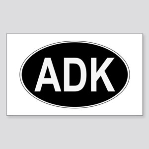 ADK Euro Oval Sticker