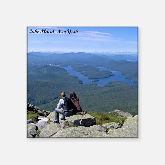 View of Lake Placid Sticker