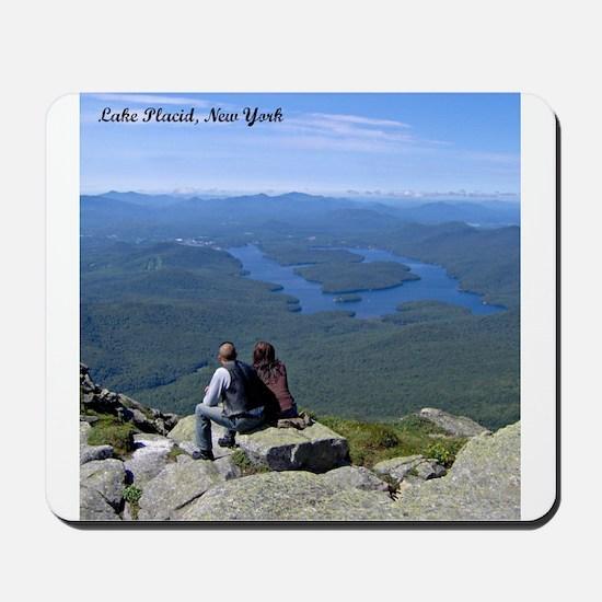 View of Lake Placid Mousepad