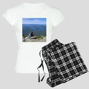 View of Lake Placid Pajamas