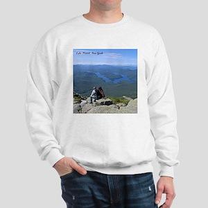 View of Lake Placid Sweatshirt