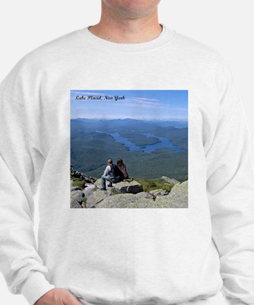 View of Lake Placid Sweatshirt
