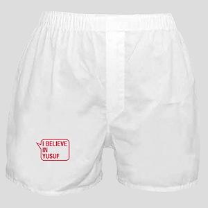 I Believe In Yusuf Boxer Shorts