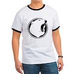 Native Art Tribal Bear Ringer T-shirt