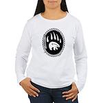 Native Art Tribal Bear Women's Long Sleeve T-Shirt