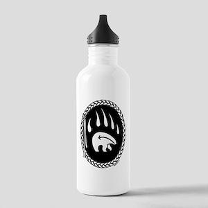 Native Art Tribal Bear Stainless Water Bottle 1.0L