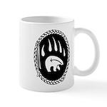 Native Art Tribal Bear Mug