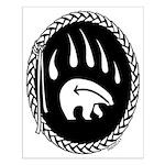 Tribal Bear Art Posters Small Native Art Poster