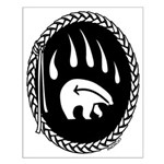 Tribal Bear Claw Small Poster