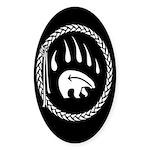 Native Art Sticker Tribal Bear Art Stickers