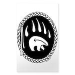 Native Art Stickers Tribal Bear Art Sticker 10 pk