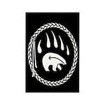 Tribal Bear Magnets Native Art Fridge Magnets