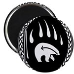 "Tribal Bear Claw 2.25"" Magnet (100 pack)"