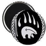 Tribal Bear Magnet Native Art Fridge Magnet 100 pk